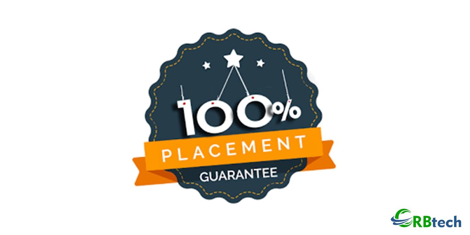 100% Job Guarantee at CRB Tech